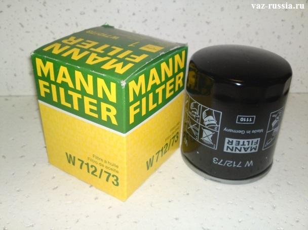 Масляный фильтр фото