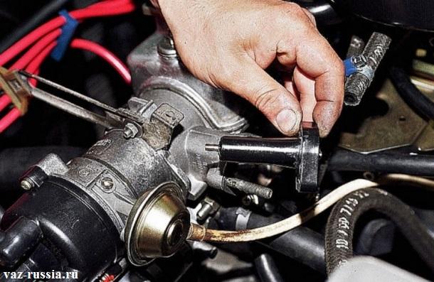 Снятие проставки с двигателя
