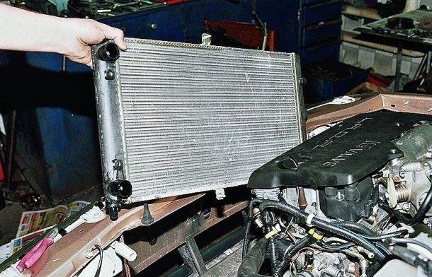 Замена радиатора охлаждения на ВАЗ