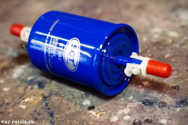 Фильтр предназначенный для автомобилей с инжекторной системой подачи топлива