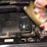 Замена масла в двигателе на ВАЗ 2113, ВАЗ 2114, ВАЗ 2115