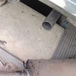 Замена задней части глушителя на ВАЗ 2101-ВАЗ 2107
