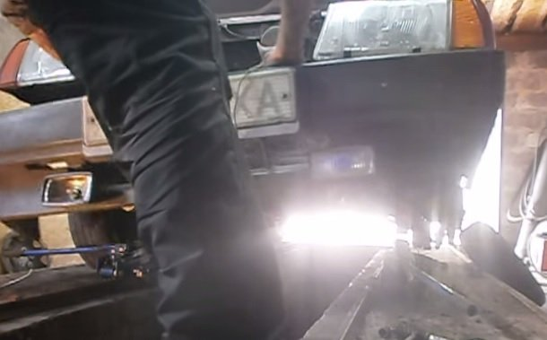 Замена переднего бампера на ВАЗ