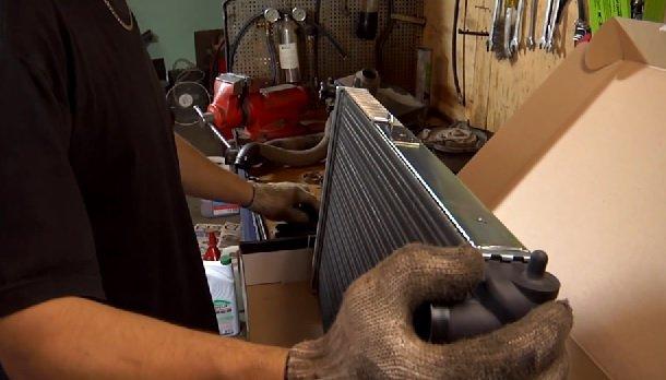 Замена вентилятора и радиатора охлаждения на ВАЗ