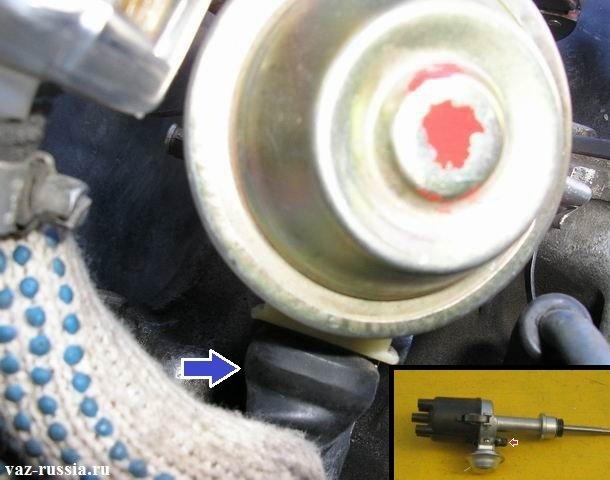 Колодка проводов подсоединяющаяся к датчику холла