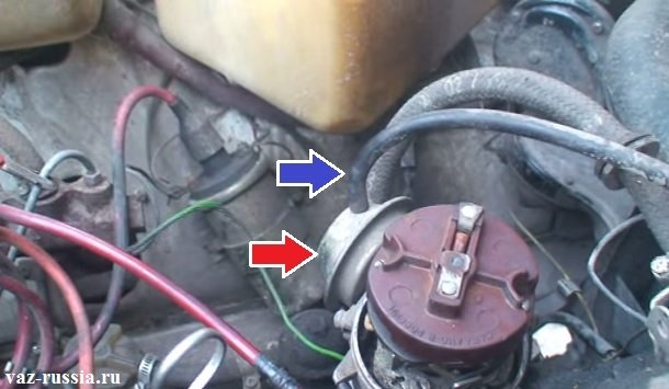 Вакуумный регулятор и шланг который к нему подсоединяется