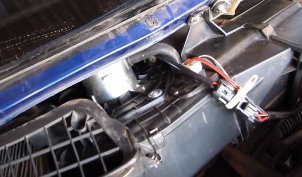 Замена вентилятора печки на ВАЗ