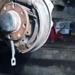 Замена троса ручника на ВАЗ 2110, ВАЗ 2111, ВАЗ 2112
