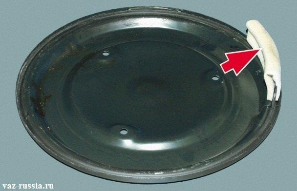 Уплотнительная заслонка крышки воздушного фильтра