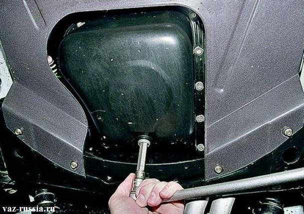 Замена масла в двигателе на ВАЗ 2101-ВАЗ 2107