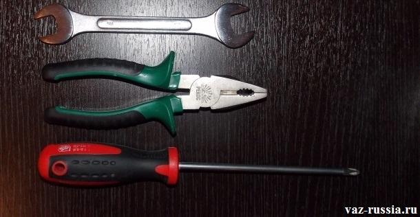 Инструменты для замены троса дроссельной заслонки