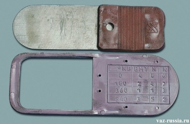 Щуп для регулировки клапанов фото