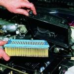 Замена воздушного фильтра на инжекторных ВАЗ 2108, ВАЗ 2109, ВАЗ 21099