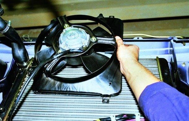 Замена вентилятора радиатора на ВАЗ