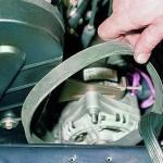 Замена ремня генератора 9402.370 на ВАЗ 2108, ВАЗ 2109, ВАЗ 21099