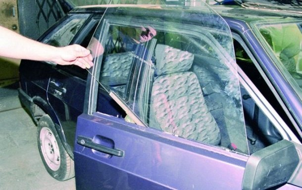 Замена стекла передней боковой двери на ВАЗ