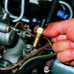 Замена датчика температуры охлаждающей жидкости на ВАЗ 2108, ВАЗ 2109, ВАЗ 21099