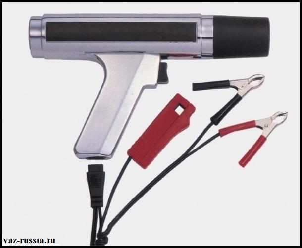 Стробоскоп установки зажигания с бортовым питанием