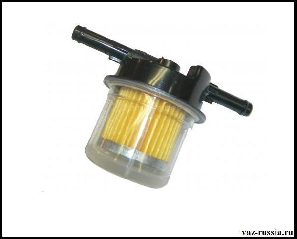 Фильтр но только уже предназначенный для автомобилей с карбюраторной системой подачи топлива