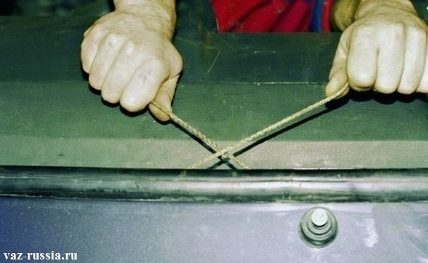 Замена лобового стекла своими руками ваз 2109
