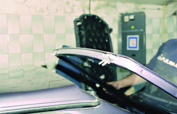 Замена багажника на ВАЗ
