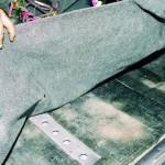 Замена коврового покрытия пола на ВАЗ 2108, ВАЗ 2109, ВАЗ 21099