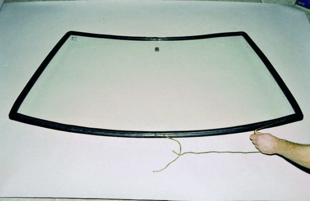Установка лобового стекла на ваз 2109