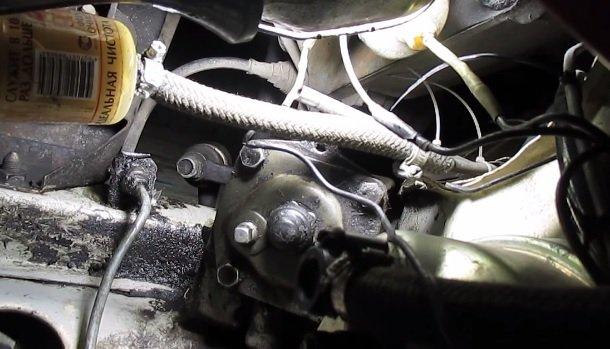 Замена масла в рулевом редукторе на ВАЗ