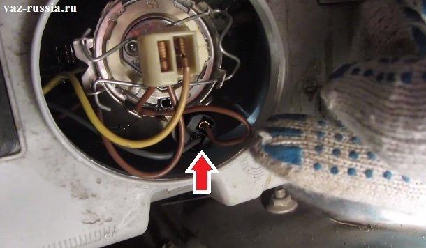 Замена всех ламп в передней фаре на ВАЗ 2110, ВАЗ 2111, ВАЗ 2112