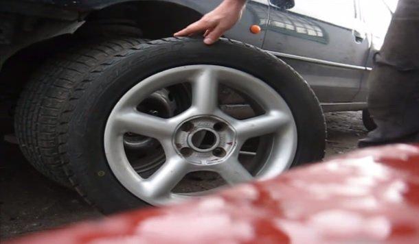 Правильная замена колёс на ВАЗ