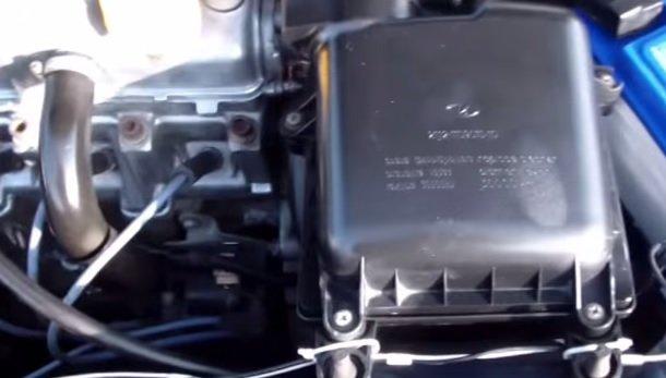 Замена корпуса воздушного фильтра на ВАЗ