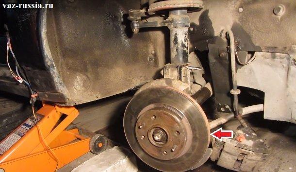 Фото №9 - ВАЗ 2110 греется тормозной диск