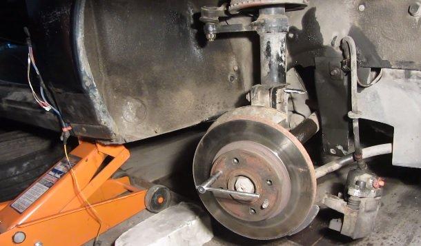 Замена тормозного диска на ВАЗ