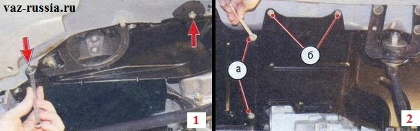 Болты крепления левого брызговика к кузову