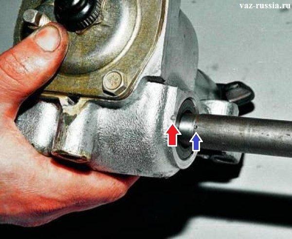 Замена рулевого редуктора ваз 2107 своими руками