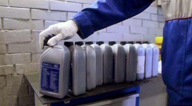 Промывка коробки передач на автомобилях ВАЗ