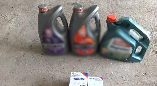 Промывка системы смазки двигателя на ВАЗ