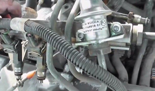 Замена топливной рампы на ВАЗ