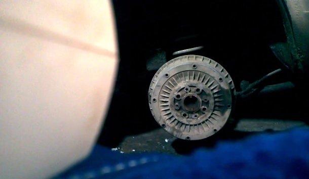 Замена заднего тормозного барабана на ВАЗ