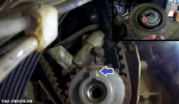Правильная установка шкива генератора на шкива коленвала