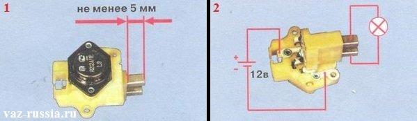 Фото №4 - проверка щеток генератора ВАЗ 2110