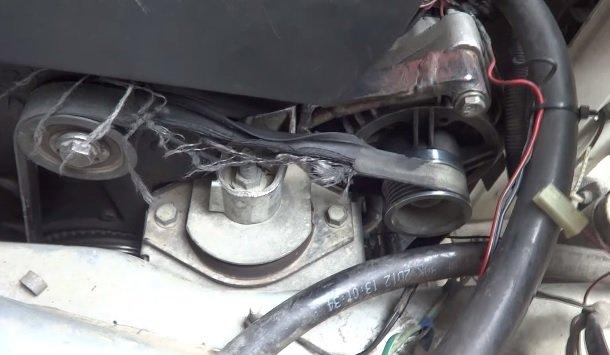Замена ремня генератора на ВАЗ