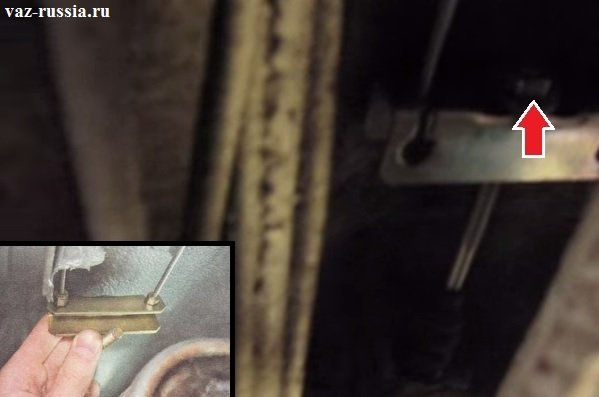 Трос ручника ваз 2110