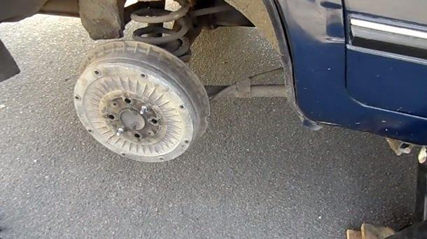 Замена заднего тормозного цилиндра на ВАЗ