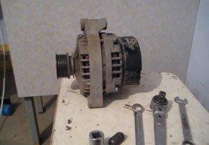 Замена генератора на ВАЗ