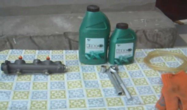 Замена главного тормозного цилиндра на ВАЗ