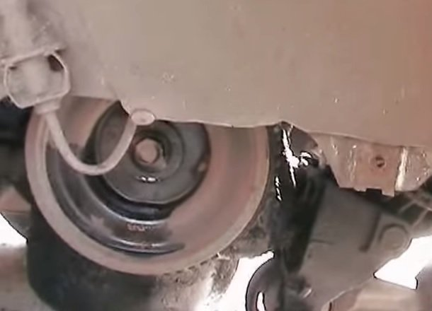 Замена переднего сальника коленвала на ВАЗ