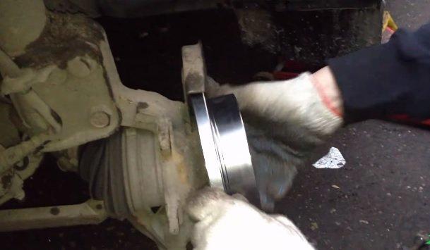 Замена тормозных дисков на ВАЗ