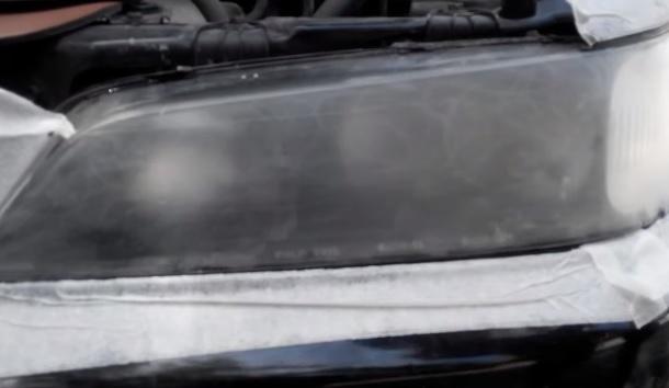 Как отполировать фары на автомобиле
