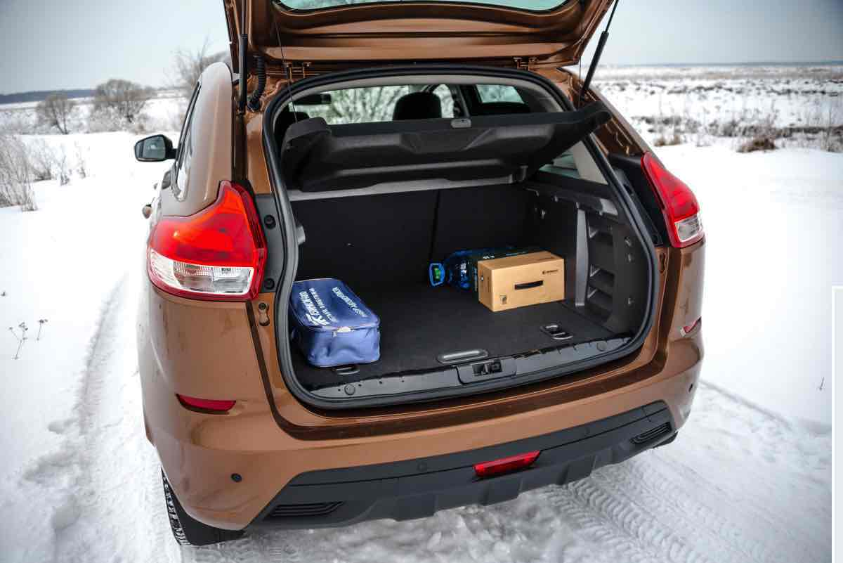 Багажник Лада XRay на фото